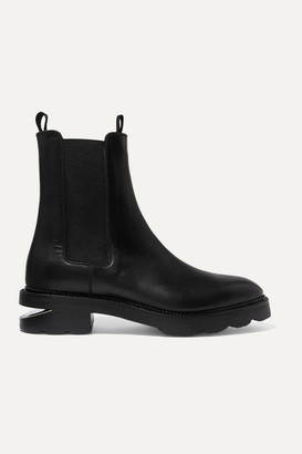 Alexander Wang Andee Cutout Leather Chelsea Boots - Black