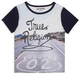 True Religion Boys' Route 02 Tee - Sizes 2-7