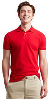 Aeropostale Mens Solid Uniform Piqu Polo Shirt