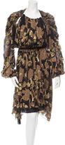 Lanvin 2015 Brocade Robe Dress w/ Tags