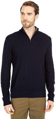 Robert Graham The Vasa Sweater (Navy) Men's Clothing