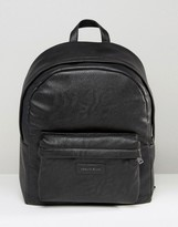 Armani Jeans Backpack Bag In Faux Leather