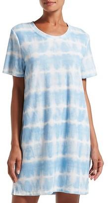 Hue Tie-Dye Short-Sleeve Sleepshirt