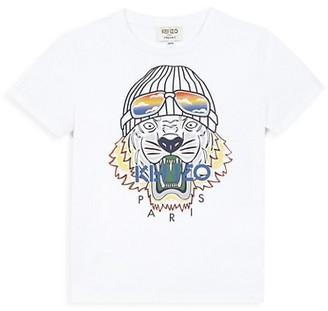 Kenzo Little Boy's & Boy's Tiger Logo T-Shirt