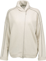 Brunello Cucinelli Bead-embellished cashmere and cotton-blend cardigan