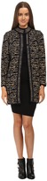 M Missoni Knit Tweed Topper Coat