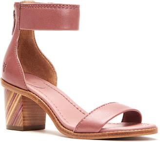 Frye Brielle Bias Leather Sandal