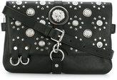 Versus studded flap crossbody bag