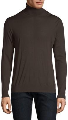 Kiton Wool Turtleneck Sweater
