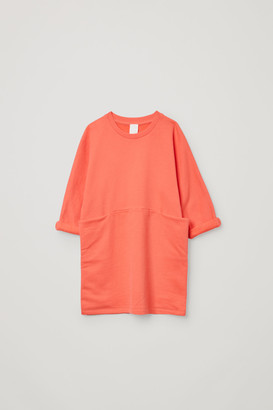 Cos Organic Cotton Dress With Pockets
