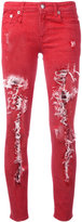 R 13 Kate skinny jeans - women - Cotton/Spandex/Elastane - 24