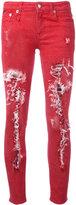 R 13 Kate skinny jeans - women - Cotton/Spandex/Elastane - 25