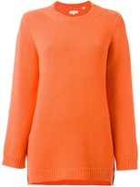 Chinti and Parker cashmere side zip jumper