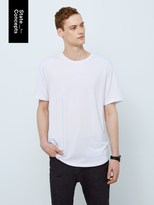 Frank and Oak State Concepts drirelease® Loose Fit T-Shirt in White