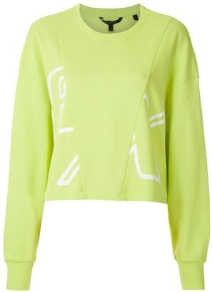 Armani Exchange Printed Panel Sweatshirt