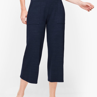 Talbots UPF 50+ Slub Terry Wide Leg Crops - Colors