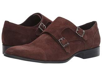 Massimo Matteo Suede Double Monk Classic