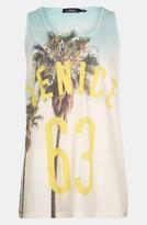 Topman 'Venice Palm' Tank Top