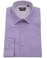 Remus Contrast Trim Stripe Shirt