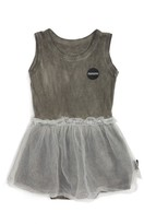 Nununu Infant Girl's Sleeveless Tulle Bodysuit