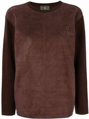 Fendi Pre-Owned Panelled Top