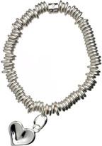 Links of London Sweetie heart sterling silver bracelet