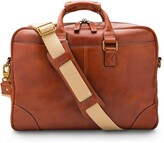 Thumbnail for your product : Bosca Leather Double Gusset Briefcase