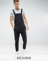 Noak Denim Overalls In Black