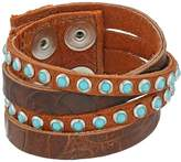 Leather Rock B622 Bracelet