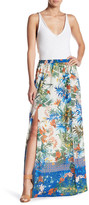 Flying Tomato Printed Maxi Skirt