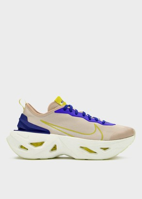 Nike Women's Zoom X Vista Grind in Fossil Stone/Sail-Hyper Blue Shoes, Size 6