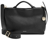Skagen Mikkeline Mini Leather Satchel - Black