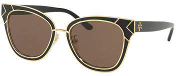 Tory Burch Square Metal Sunglasses