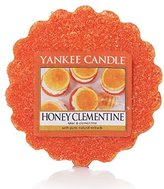 Yankee Candle Honey Clementine Tarts Wax Melts, Red