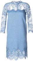 Ermanno Scervino lace panel dress