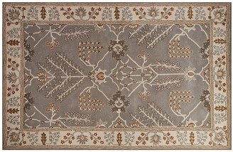 One Kings Lane Malcolm Rug - Gray/Ivory - 5'x8'