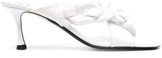 No.21 Chain-Link Detail Sandals