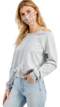 Self Esteem Juniors' Sweatshirt & Printed Face Mask
