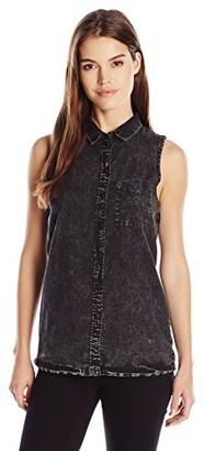 Noisy May Women's Carine Sleeveless Shirt