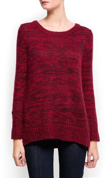 MANGO Knit angora sweater