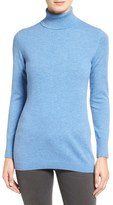 Nordstrom Long Cashmere Turtleneck Sweater