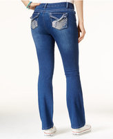 Freestyle Juniors' Embellished Bootcut Jeans