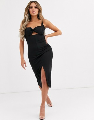 Significant Other paloma bustier midi dress