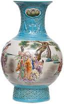 One Kings Lane Vintage Carved Porcelain Vase