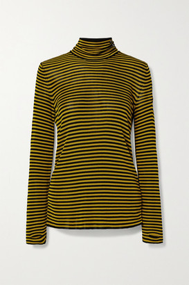 Petar Petrov Kristin Striped Knitted Turtleneck Sweater