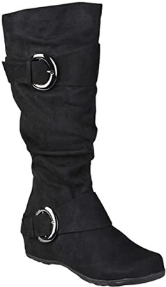 Journee Collection Jester-01 Boot - Extra Wide Calf (Black) Women's Shoes