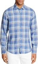 Zachary Prell Plaid Regular Fit Button-Down Shirt