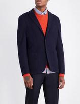 SLOWEAR Single-breasted wool-blend jacket