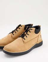 Thumbnail for your product : Timberland cross mark chukka boots in tan