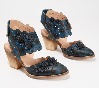 Spring Step L'Artiste by Leather Heeled Sandals - Disntinction